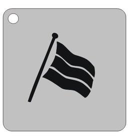 Schmink sjabloon vlag