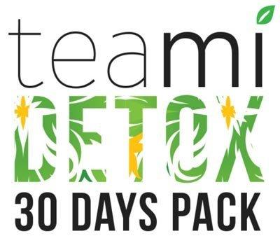 Pack Teami Detox 30 Jours