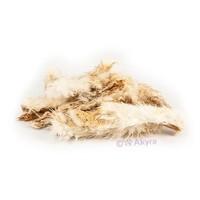 Konijnenhuid met vacht 250 gram