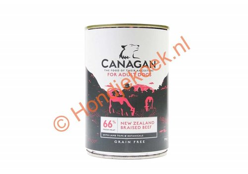 Canagan Canagan blik Brits Rund 400 gram