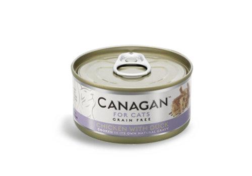 Canagan Canagan kip met eend 75 gram