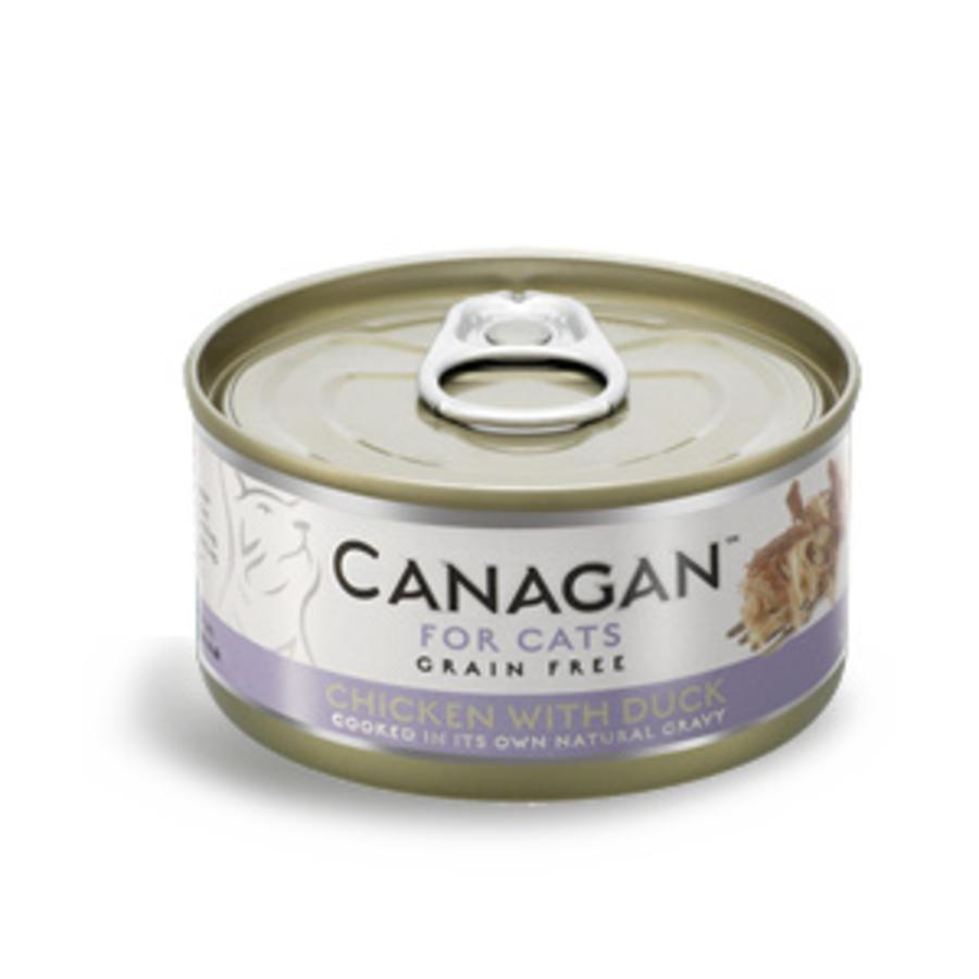 Canagan kip met eend 75 gram