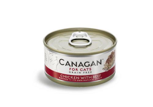 Canagan Canagan kip met rund 75 gram