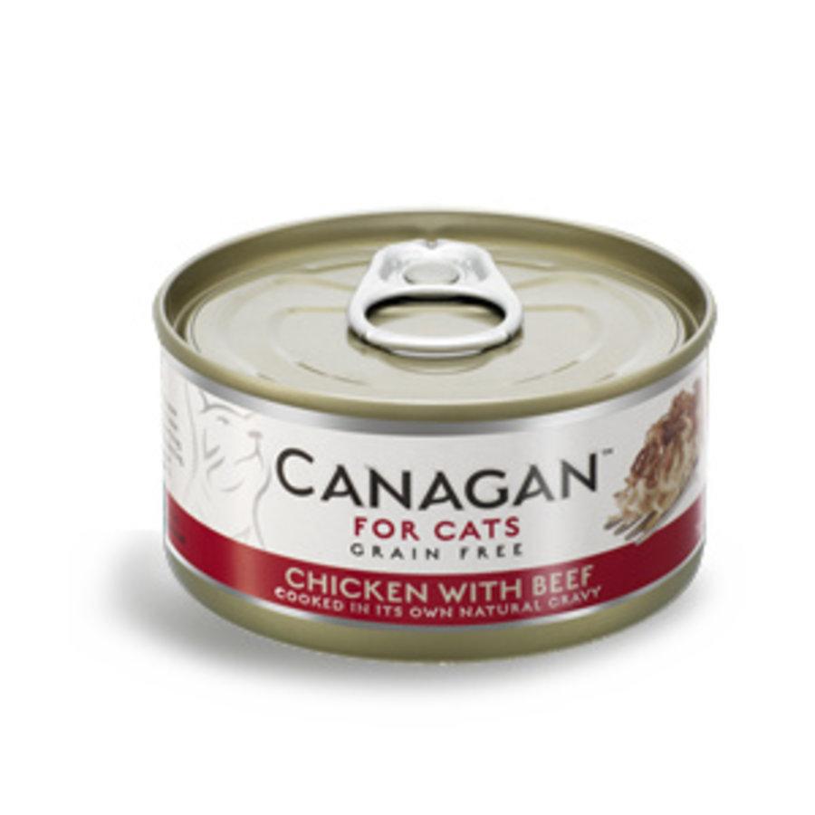 Canagan kip met rund 75 gram