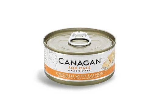 Canagan Canagan kip met zalm 75 gram