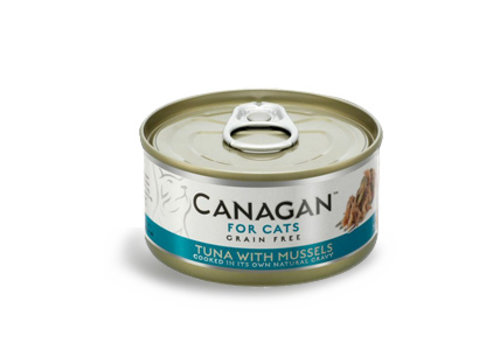 Canagan Canagan tonijn met mosselen 75 gram