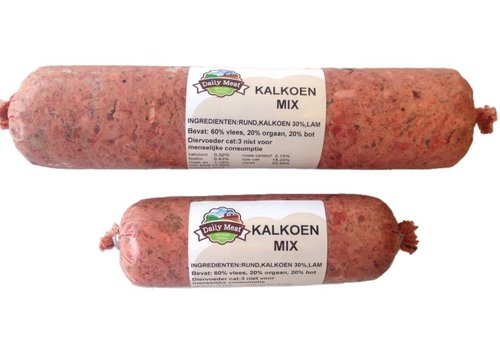 Daily Meat Kalkoen-mix 1 KG