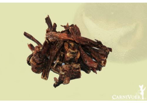 Carnivoer Runderstrips 100 gram