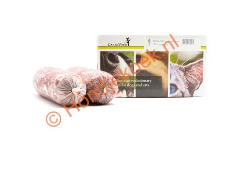 Carnivoer Wildmix 2x400 gram