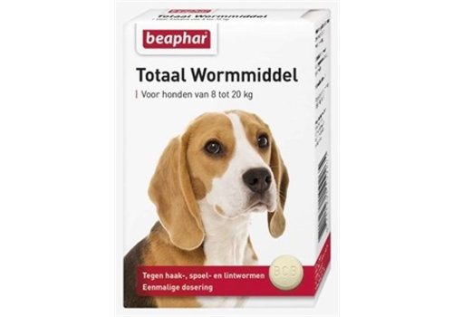 * Beaphar anti worm tabletten