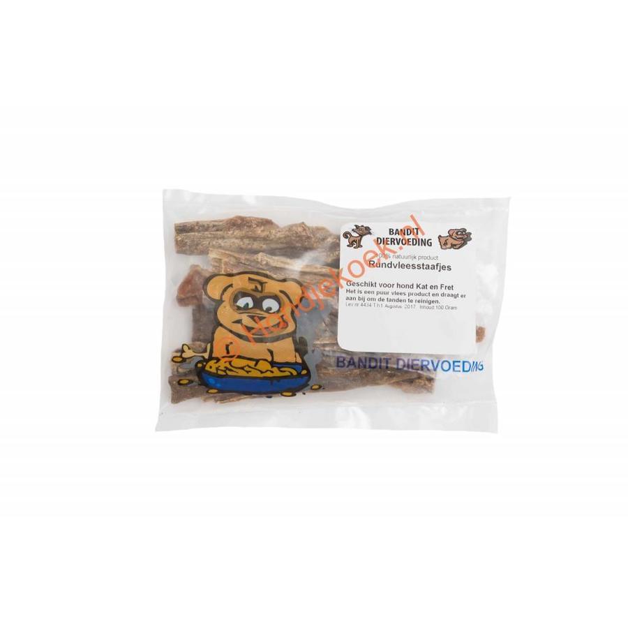 Rundvlees staafjes 100 gram