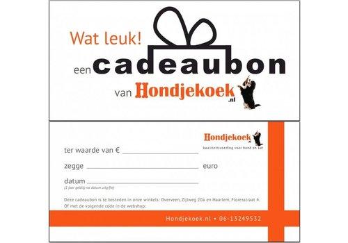 Huismerk Cadeaubon