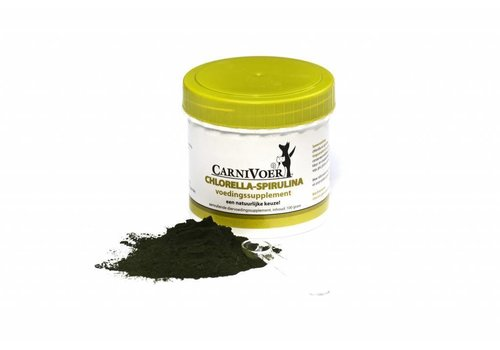 Carnivoer Chlorella-Spirulina 100 gram
