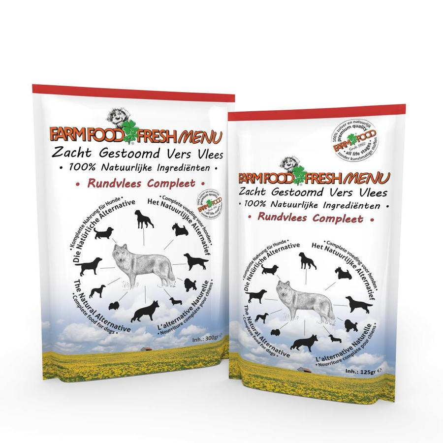 Farm Food Fresh Menu Rundvlees