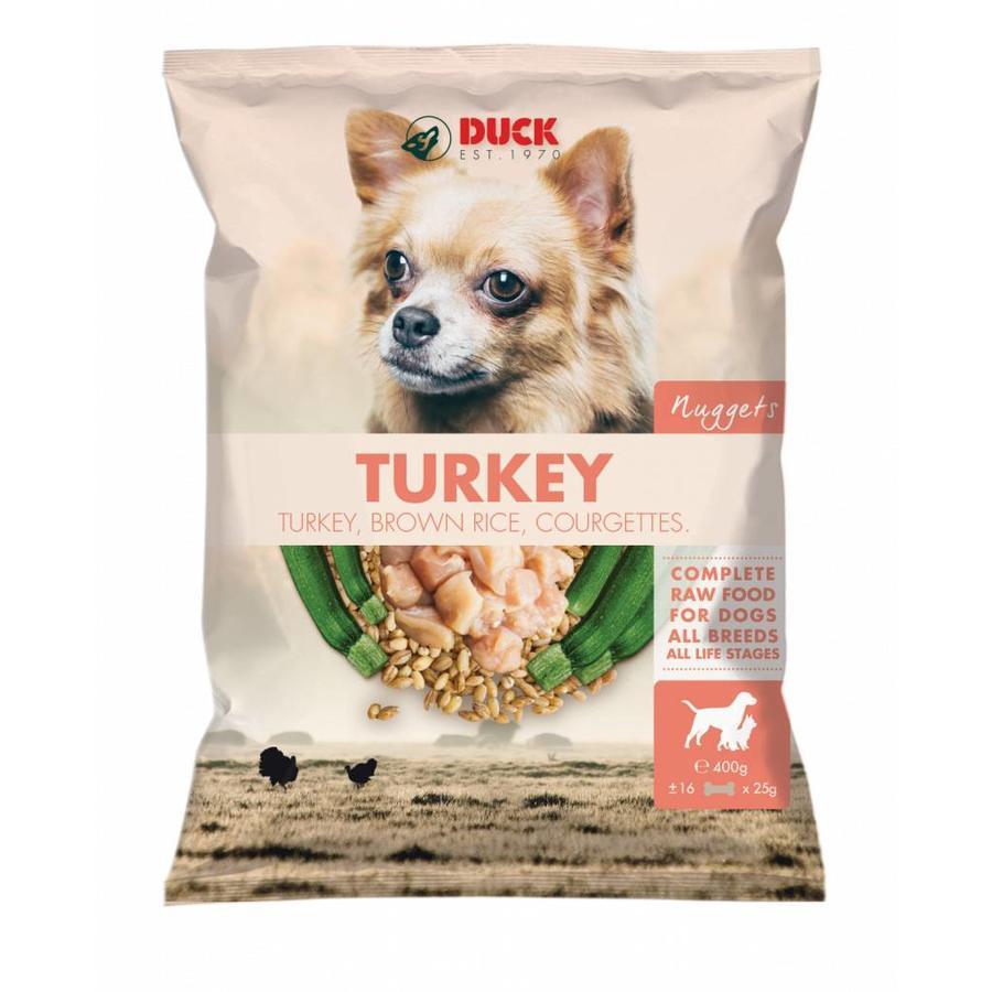 Duck Nuggets Kalkoen 400 gram