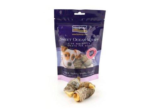 Fish4Dogs Sweet Ocean Wraps Apple 100 gram