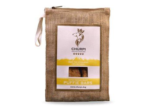 * Churpi Puffy Bar 70 gram (2-3 stuks)