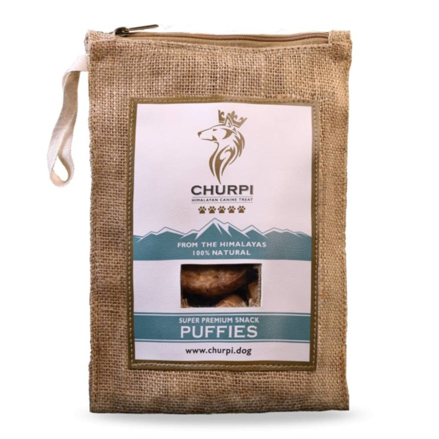 Churpi Puffies Crispy 70 gram (12-15 stuks)