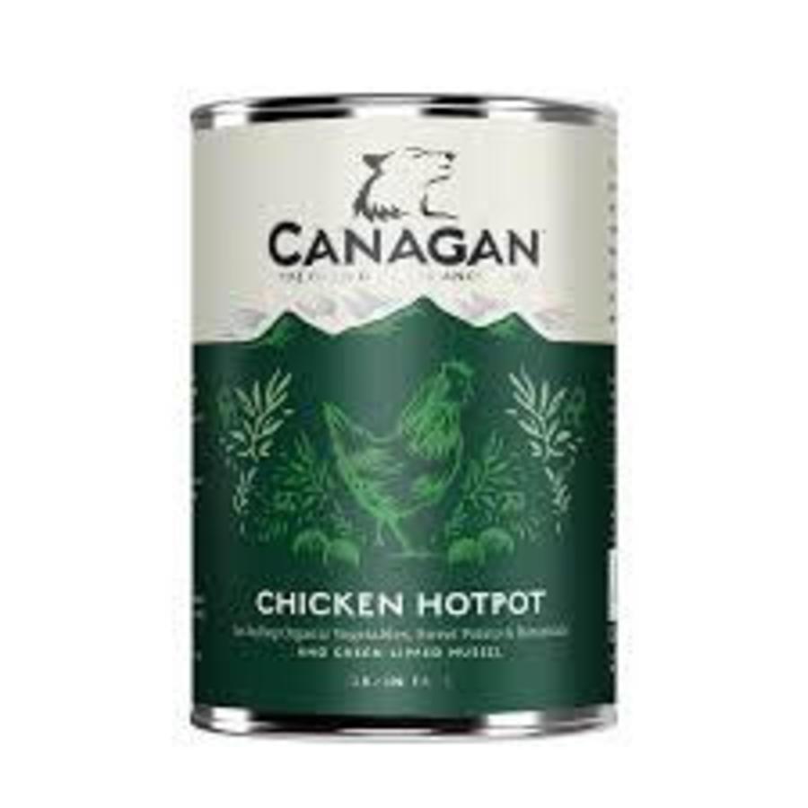 Canagan blik Kip met groenten (Hotpot) 400 gram