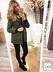 Winter Jacket Green