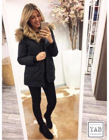 Winter Jacket Black