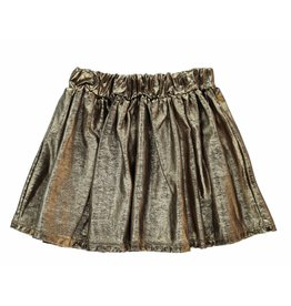 Finger in the Nose Annix gold metal skirt