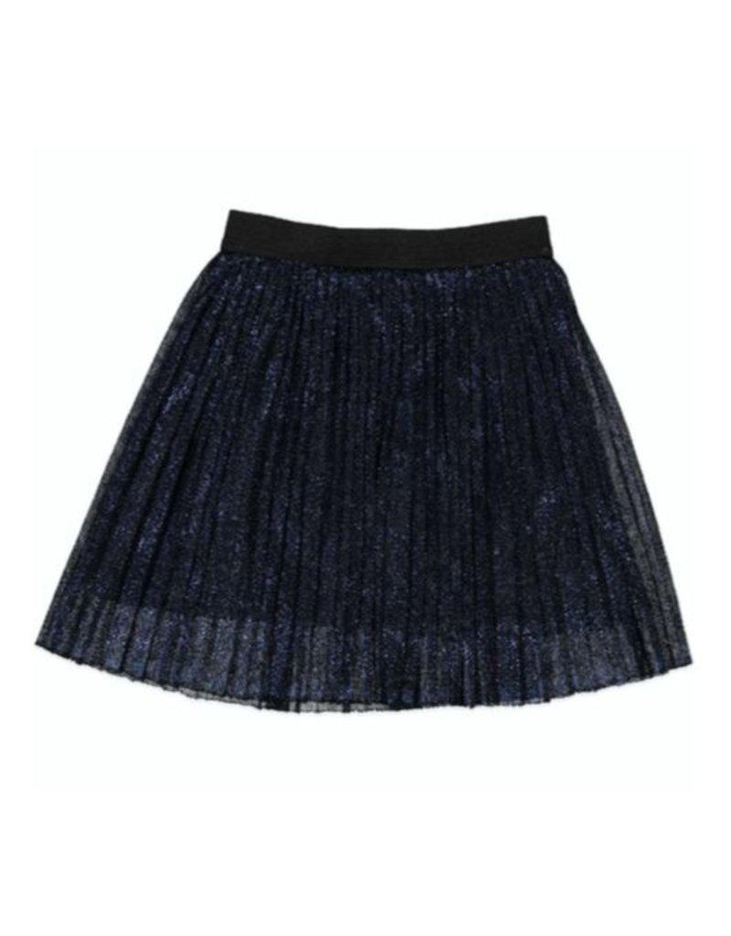 Anne Kurris Anne kurris plisse mini skirt navy