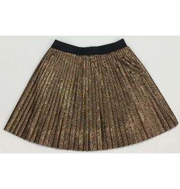 Anne Kurris Anne kurris plisse mini skirt copper