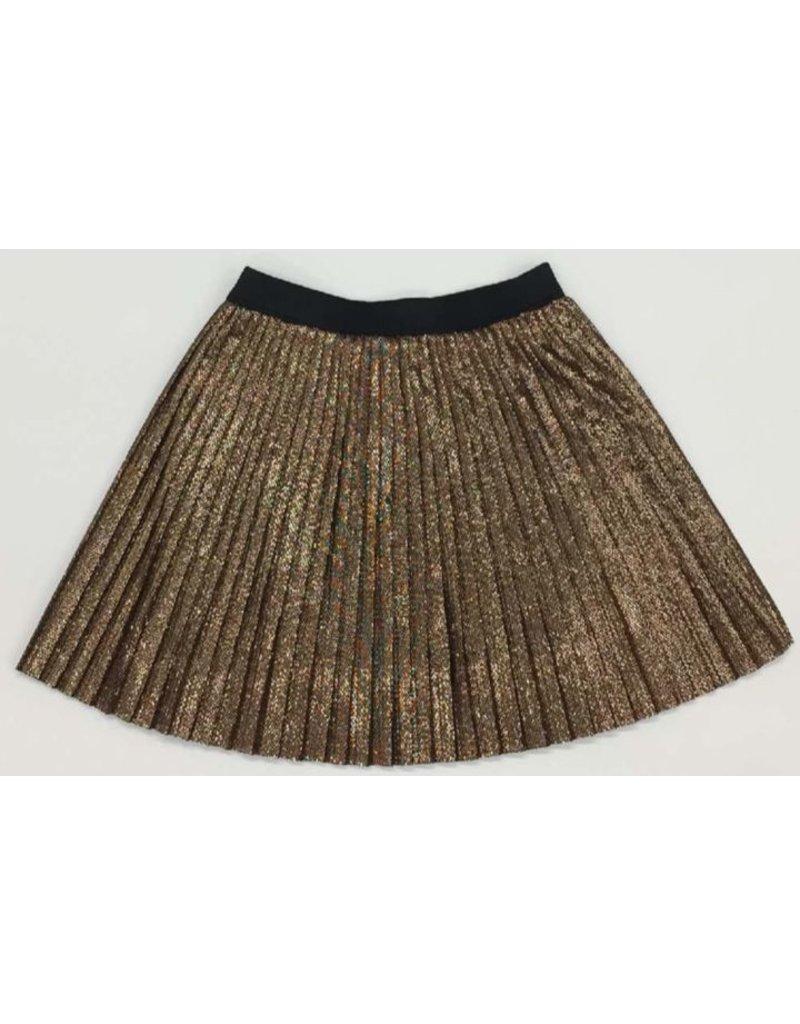anne kurris winter 2017 Anne kurris plisse mini skirt copper