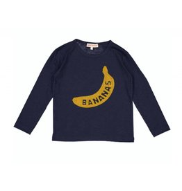 Anne Kurris Bananas boys shirt navy