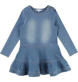 Chloé Robe denim blue C12642