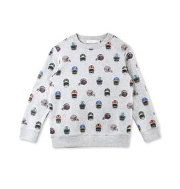 Stella McCartney Boy sweater helmet SJJ49
