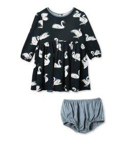 Baby woven dress SJK19