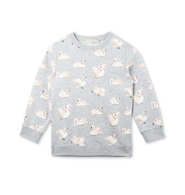 Stella McCartney SJJ70 1451 Betty sweatshirt swans