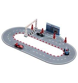 Kids Concept Puzzel Racebaan Incl Autotjes