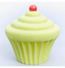 Little Lamp Company Nachtlamp Cupcake incl. Adapter Groen