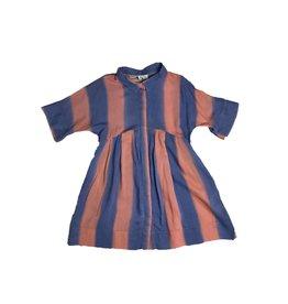 Morley Bigstripe sky dress