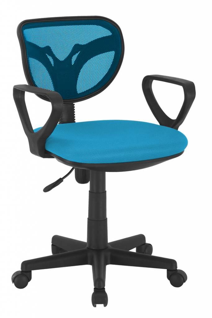 Monaica Hippy Bureaustoel Blauw