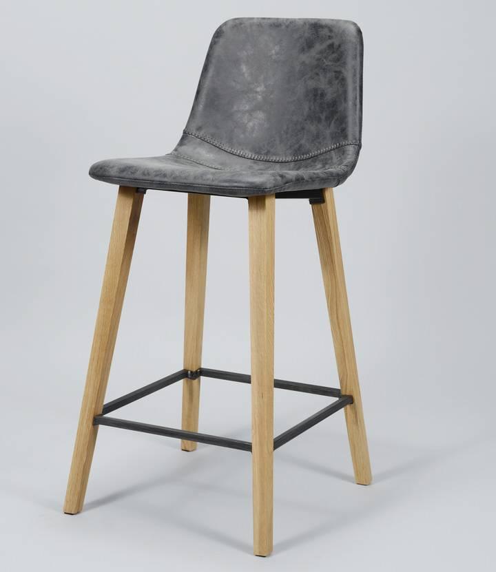 Davidi Design Leon Barkruk 4 stuks Zwart