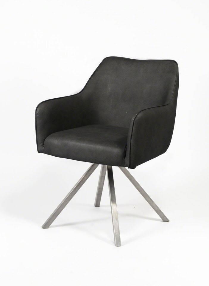 Davidi Design Femo Eetkamerstoel 2 stuks Zwart