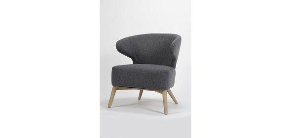 Davidi Design Roza Fauteuil Staalgrijs