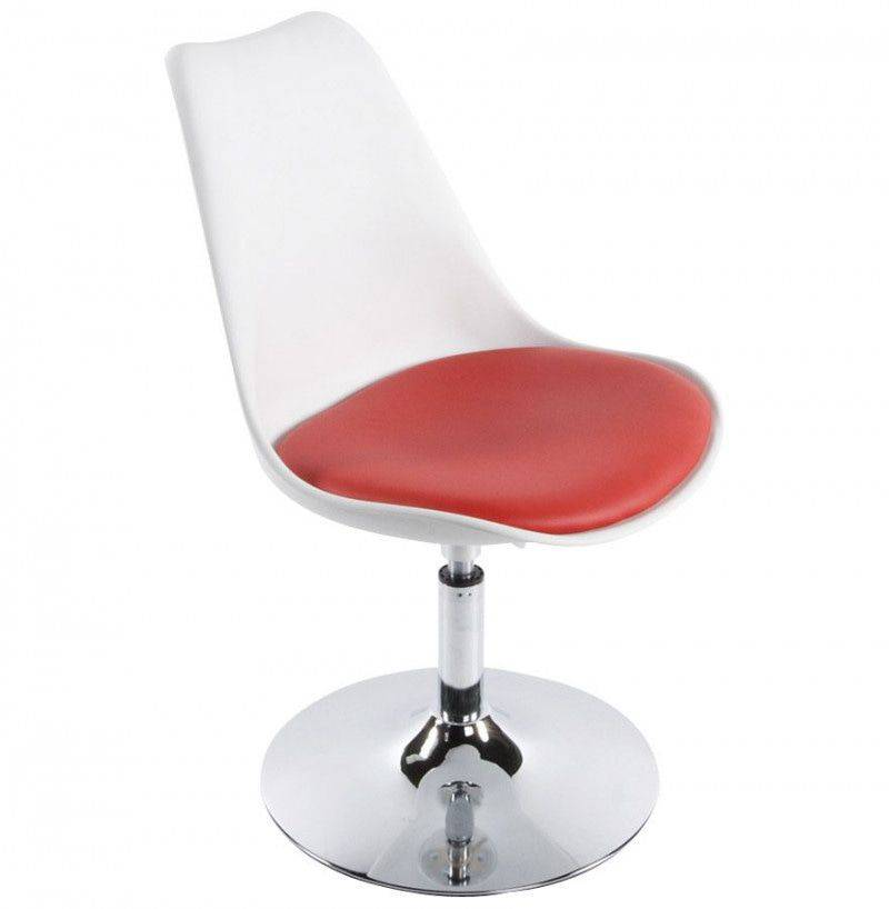 Bondy Living Ancona Fauteuil Wit/Rood