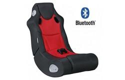 Booster Gamestoel Rood met Bluetooth