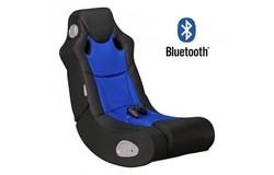 Booster Gamestoel Blauw met Bluetooth
