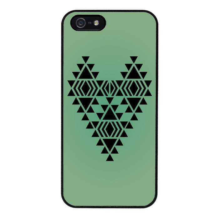 iPhone 5/5S/SE hoesje - Native heart #1