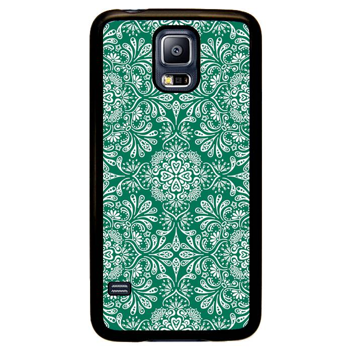 Samsung Galaxy S5 Neo hoesje - Flowers and leaves #2