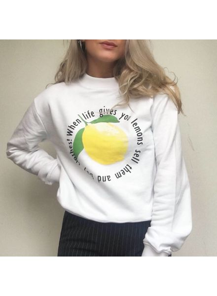 Rut & Circle Lemon Sweatshirt