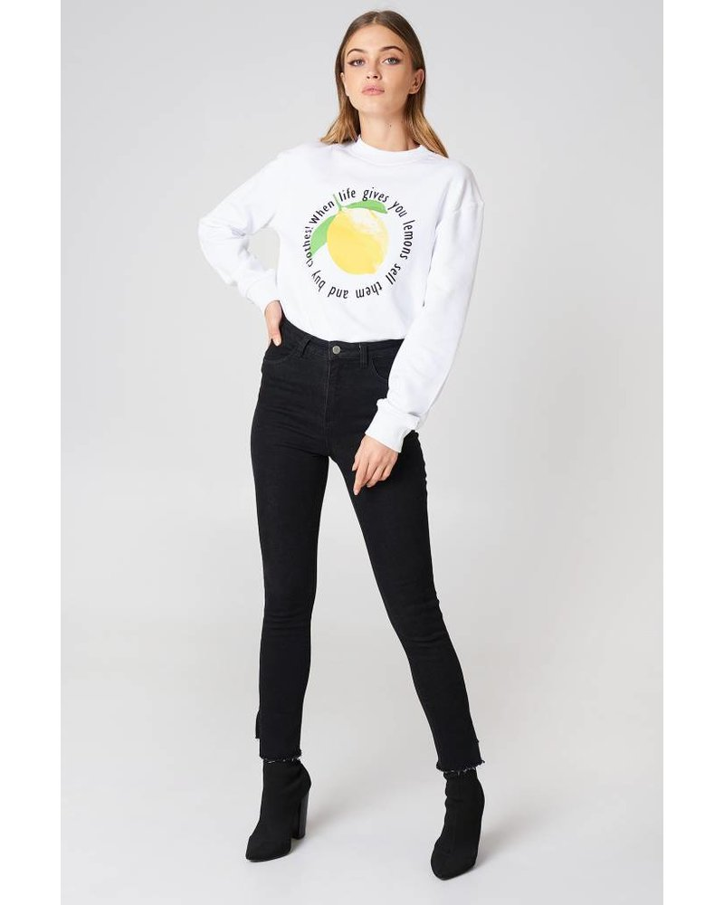Rut & Circle Lemon Sweatshirt