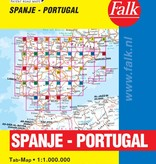 Falk Routiq autokaart Spanje / Portugal Tab Map, picture 85334114