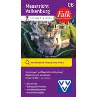 VVV Citymap & more 08. Maastricht en Valkenburg